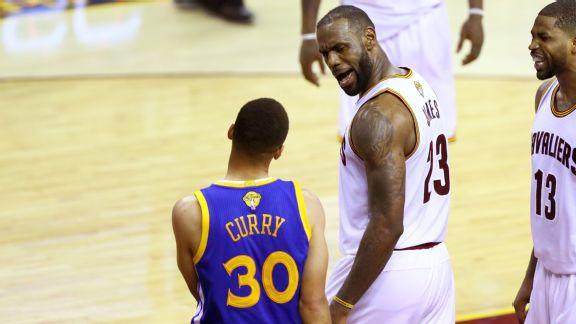 LeBron James, Steph Curry