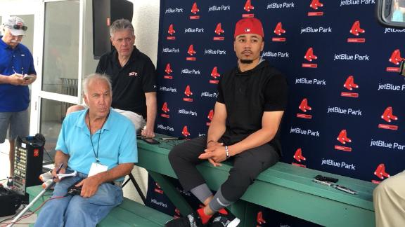 Mookie Betts: 'No Hard Feelings' With Red Sox After Arbitration