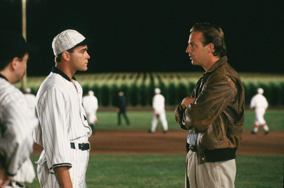 PHOTO: Kevin Costner and Ray Liotta appear in Field of Dreams.