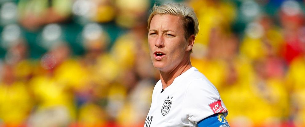 PHOTO: Abby Wambach of the US is seen during during the FIFA Womens World Cup Canada 2015 Round of 16 match between the US and Colombia at Commonwealth Stadium on June 22, 2015 in Edmonton, Canada.