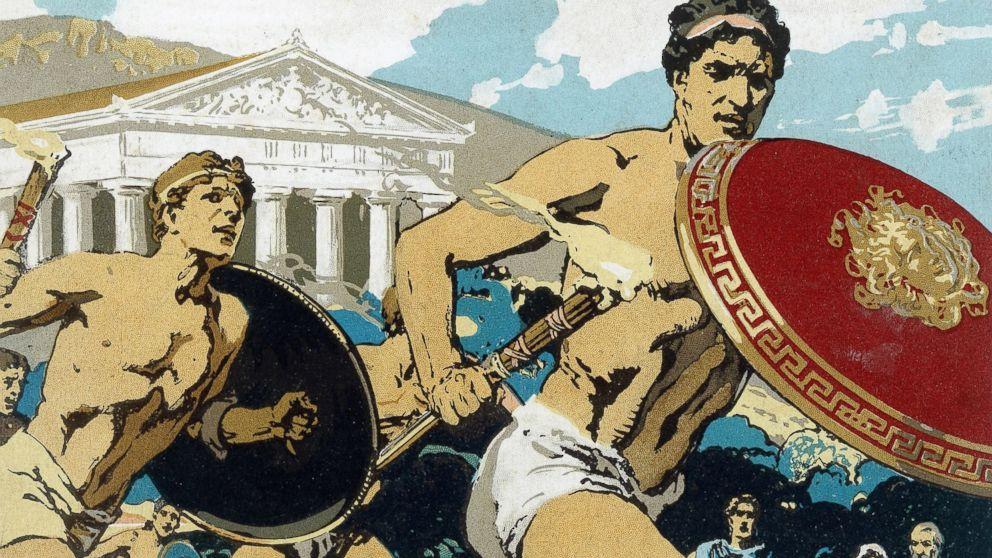 ancient olympics vs modern olympics
