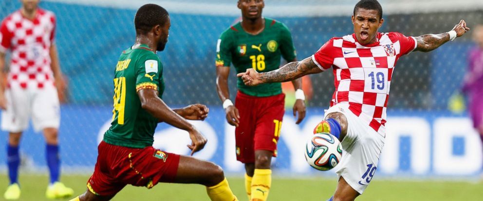 57cd2378a1b Croatia Ends Cameroon s World Cup Hopes in 4-0 Shellacking - ABC News