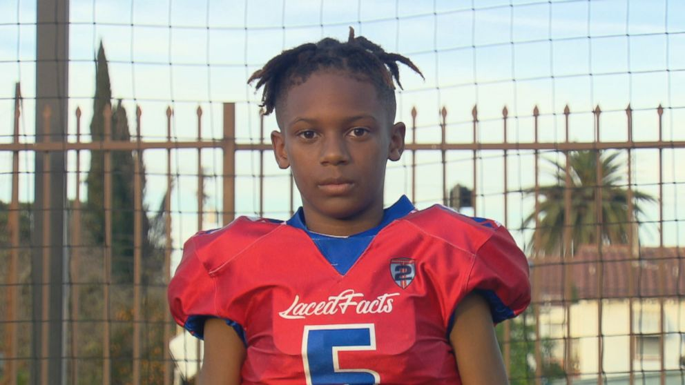 PHOTO: Ten-year-old Havon Finney Jr. says he received an offer from the college football program at the University of Nevada.