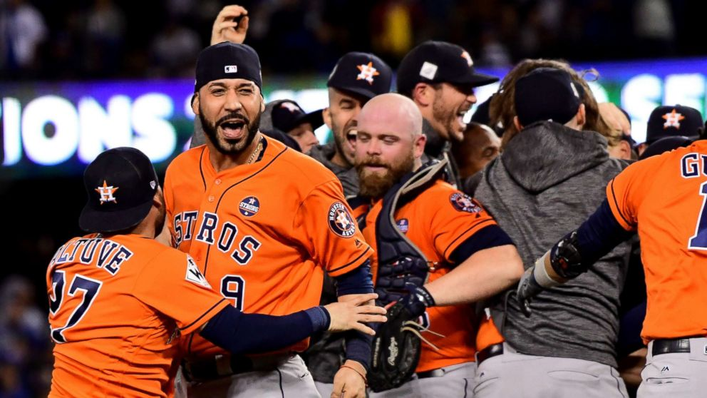 Astros World Series >> Astros Celebrate Houston Strong With World Series Win