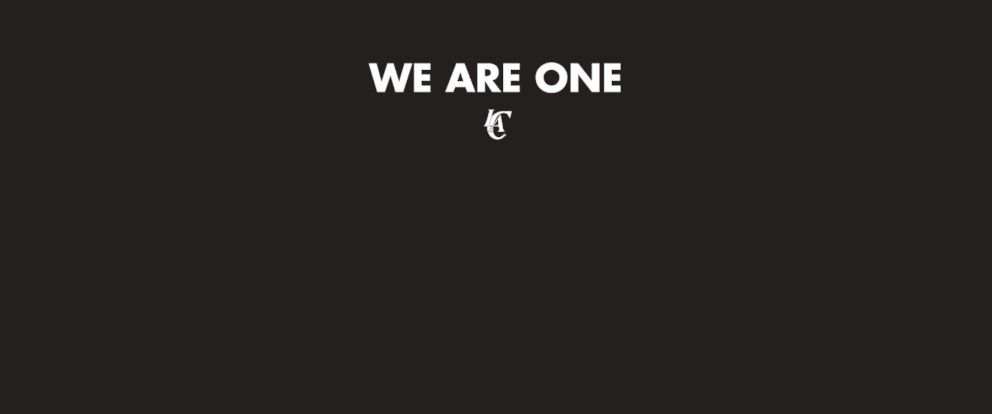 PHOTO: The homepage of the Los Angeles Clippers on April 29, 2014.