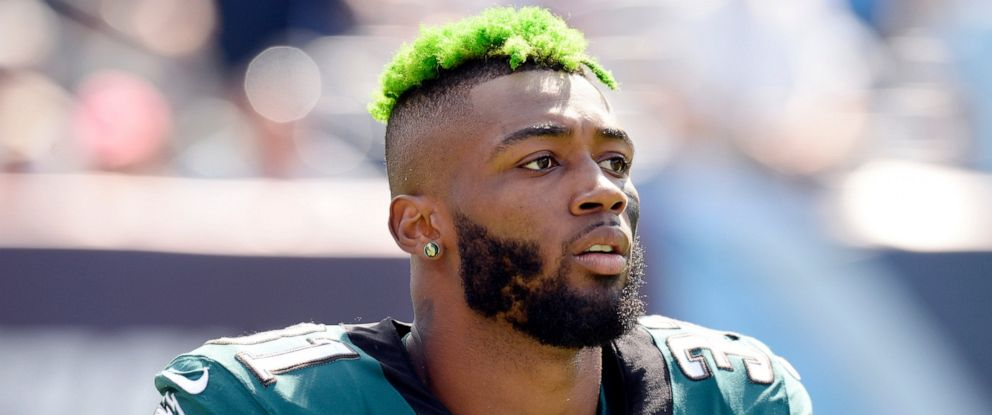 PHOTO: Jalen Mills, who played in eight games for the Philadelphia Eagles in 2018 before being injured, was involved in a fight with Washington Wizards forward Devin Robinson on Saturday, April 13, 2019.