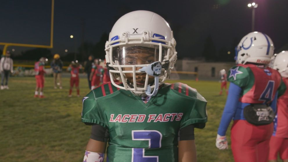 PHOTO: Kaleb Herndon, 7, is a youth football standout.