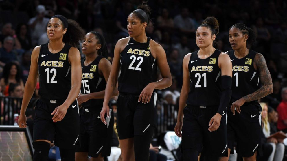 WNBA rules Las Vegas Aces will take a loss for not playing after ...
