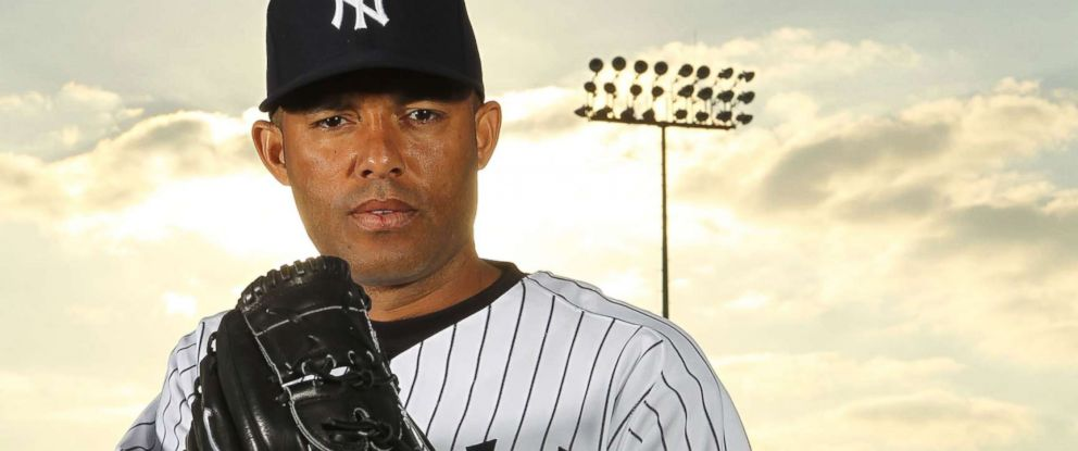 e7f4c2241 PHOTO  Mariano Rivera of the New York Yankees poses for a photo during  Spring Training