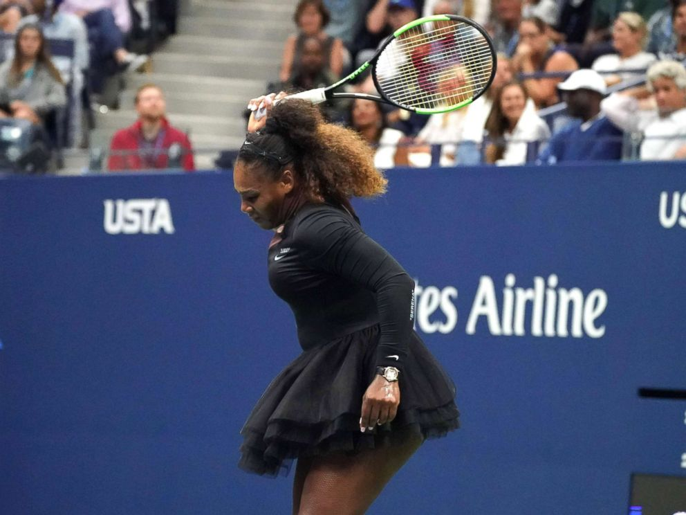 Image result for serena williams breaking racket