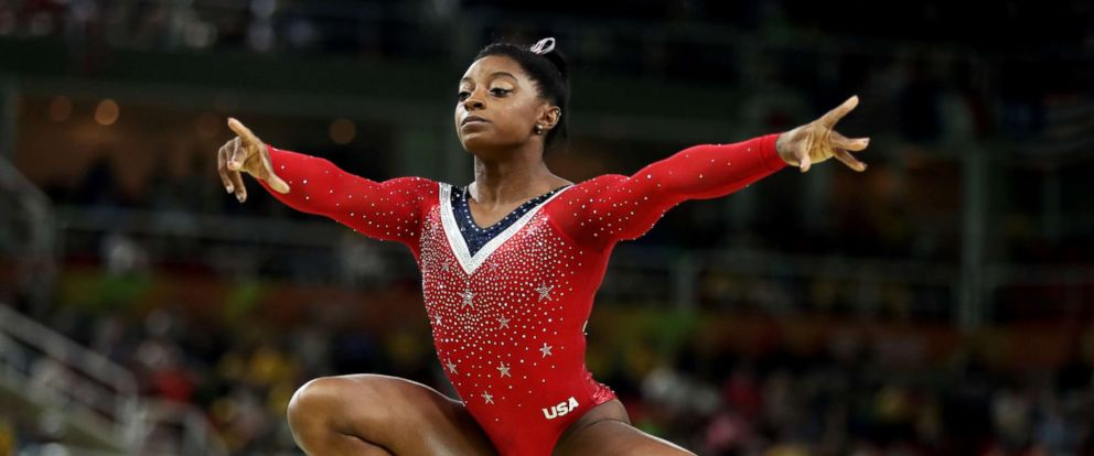 PHOTO: Simone Biles of the U.S. competes in the Balance Beam Final of the 2016 Olympic Games on Aug. 15, 2016 in Rio de Janeiro.