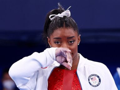 Simone Biles withdraws from individual all-around 'to focus on her mental health'