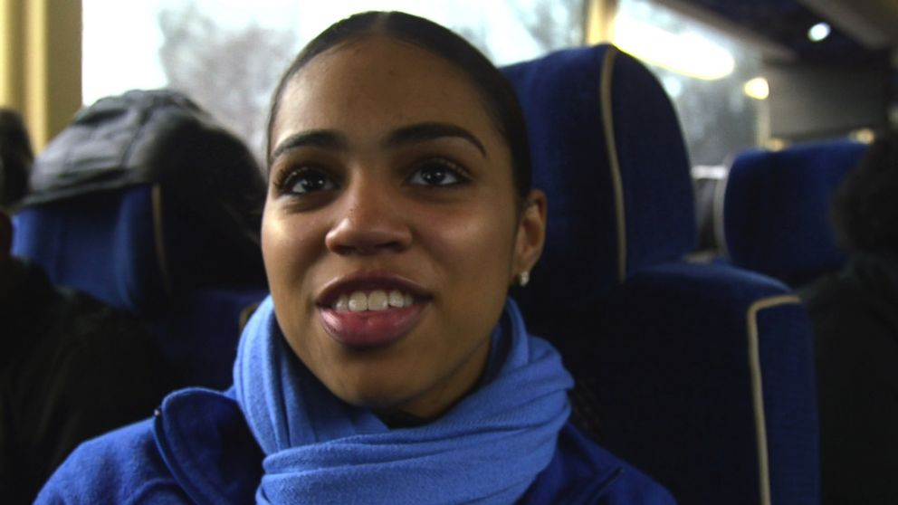 PHOTO: Destine Jean-Michael, the co-captain of Figure Skating Harlem got a full scholarship to a top-tier private school in New York City.
