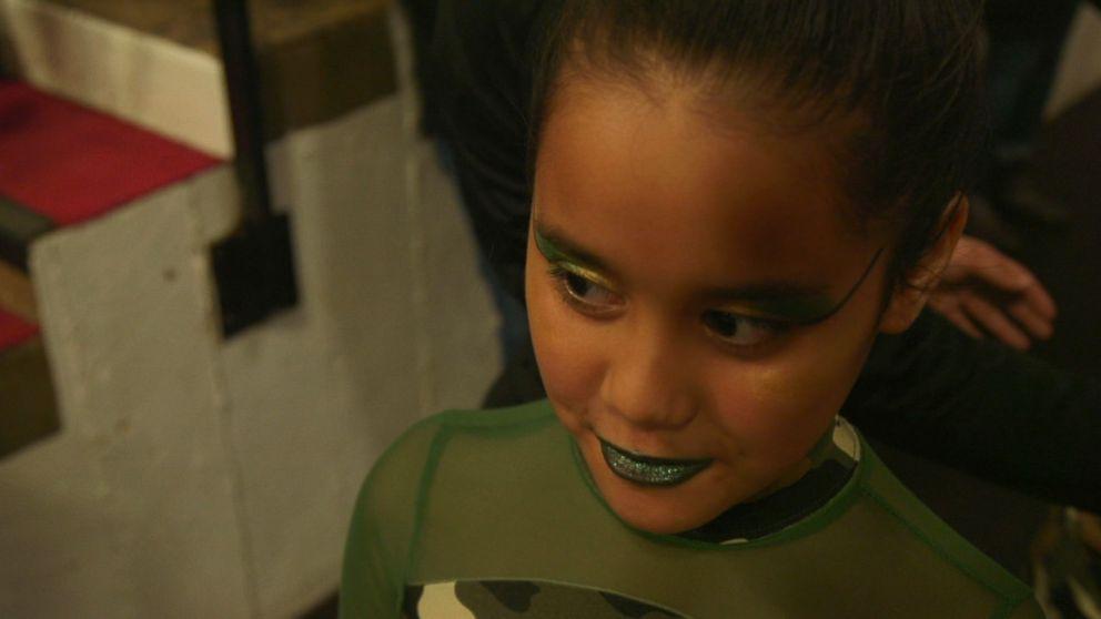 PHOTO: Eight-year-old Janiya Johnson from Detroit harbors Olympics dreams.