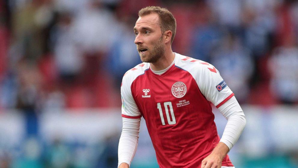 Danish soccer star Christian Eriksen awake, stable after collapsing during Euro 2020 match