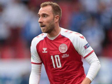 Soccer star Christian Eriksen awake, stable after collapsing during Euro 2020 match