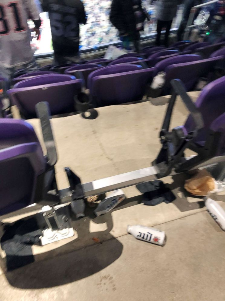 After Super Bowl Eagles Fan Stole Seat From U S Bank