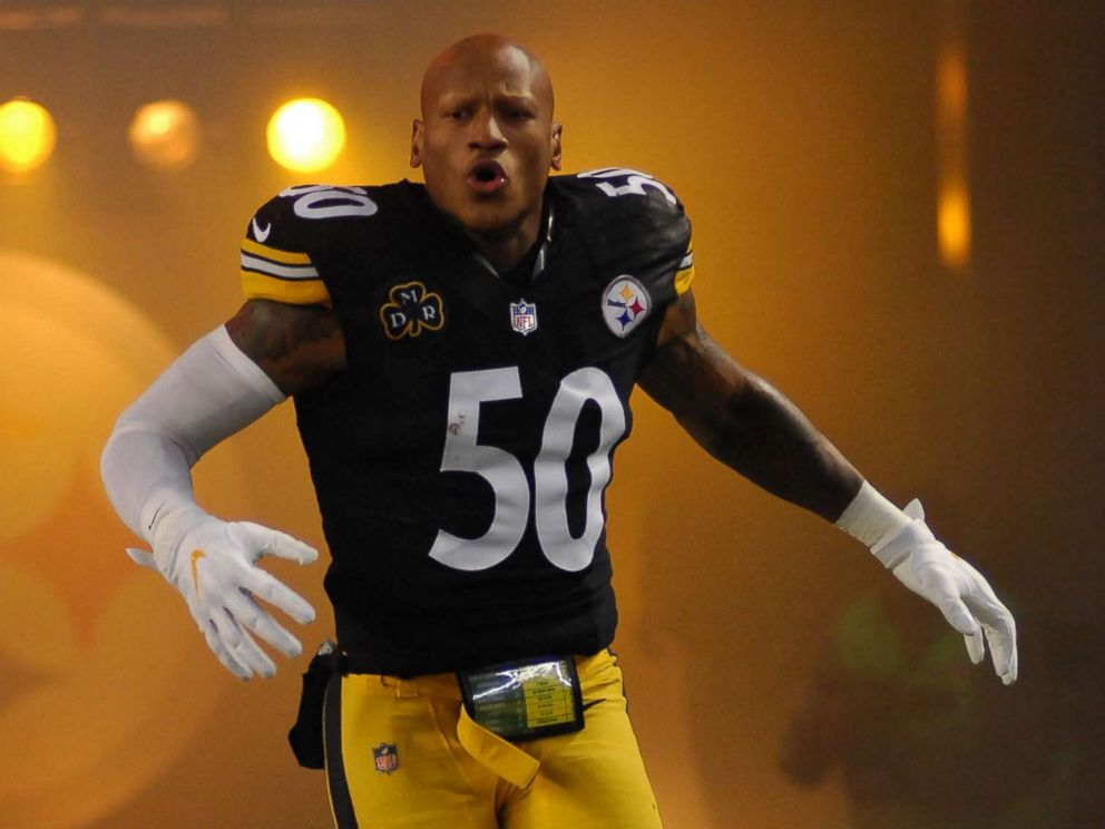 the latest 63099 ac37d Pittsburgh Steelers linebacker hospitalized after suffering ...