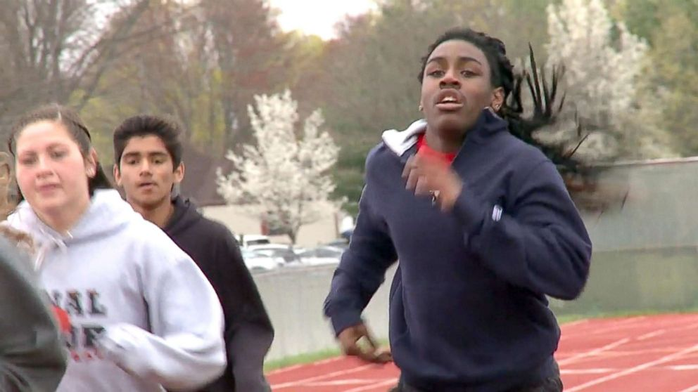 Transgender teens outrun track and field competitors but critics cry foul