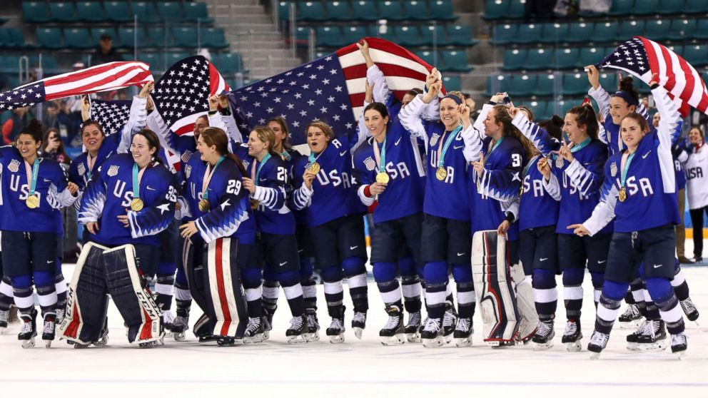 f5fc6d7a80b47f US women s hockey team finally gets gold in dramatic final against ...