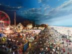 Coney Island, N.Y. Stephen Wilkes is a widely recognized fine-art photograph. His newest project, Day to Night, showcases fleeting moments of locations around the world from one camera angle.
