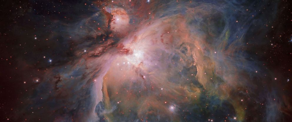 PHOTO: The Orion Nebula and its associated cluster of young stars are photographed by the European Southern Observatory, July 26, 2017.