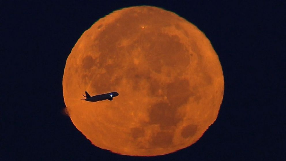 Now This Is A Supermoon Video Abc News
