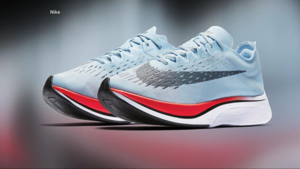 778972c2d15 Nike unveils new marathon running shoes Video - ABC News