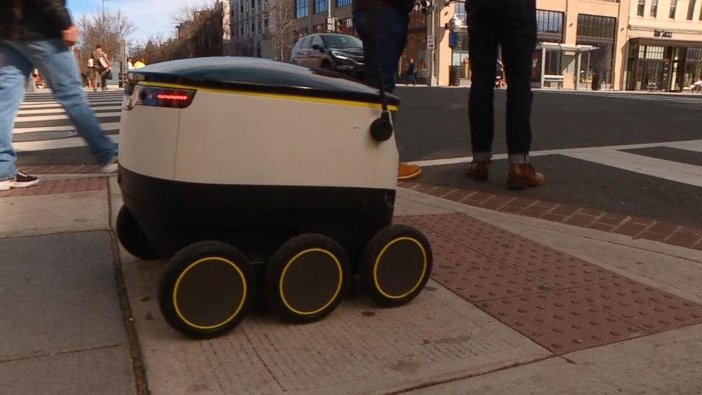 Postmates reveals new robot food delivery service