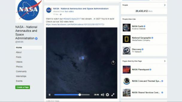 Solar eclipse lights up social media