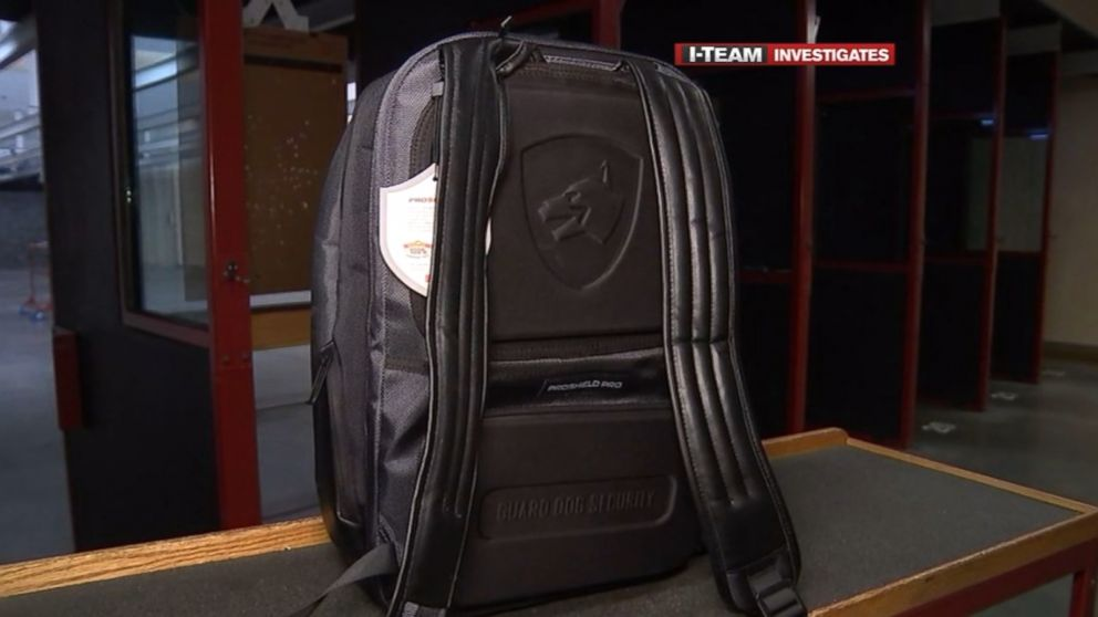 dd16cf2284 Bulletproof backpacks  What you need to know - ABC News