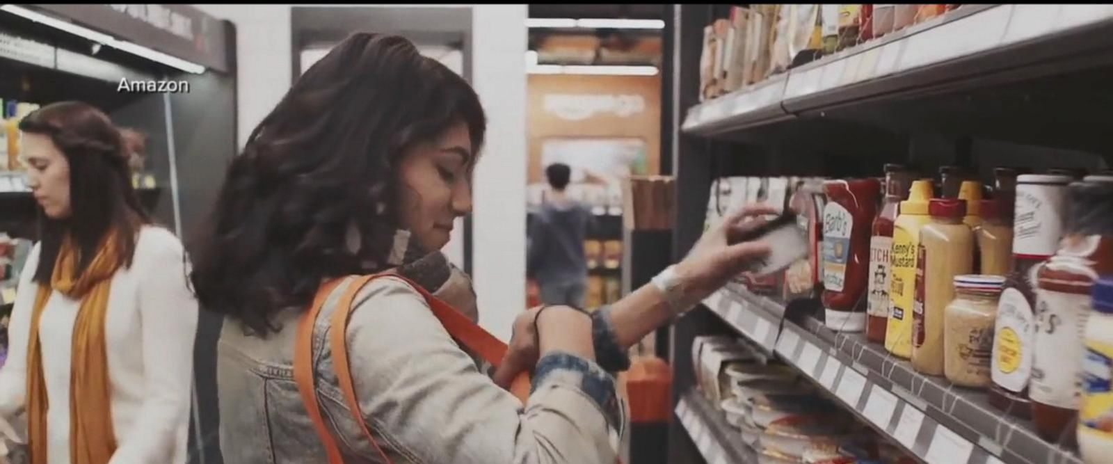 VIDEO: Amazon Go store allows shoppers cashier-free convenience