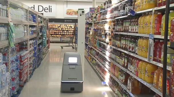 Robots leave some customers puzzled at Walmart stores