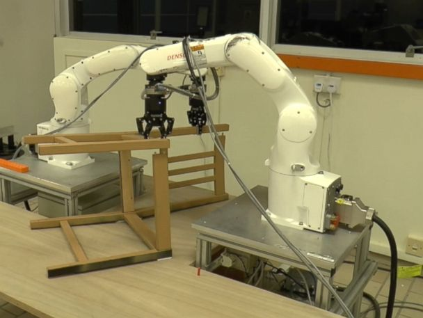 WATCH:  Furniture-building robot assembles IKEA chair in less than 9 minutes