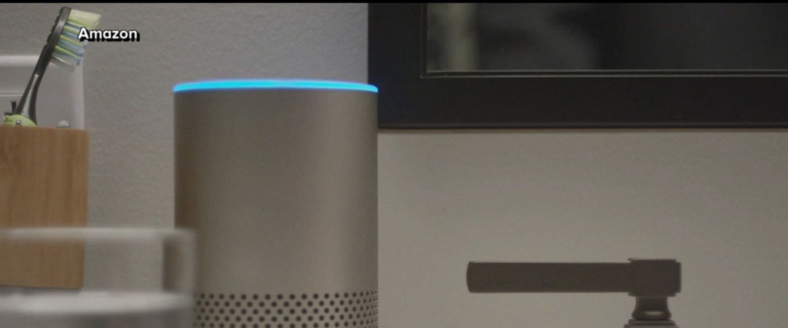 "VIDEO: Amazon chalked up its voice-controlled speaker's error to an ""extremely rare occurrence."""