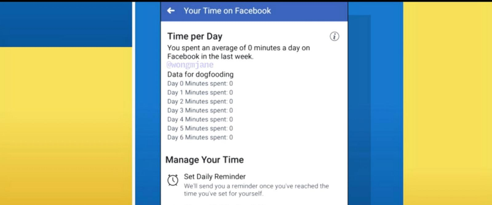 VIDEO: Hidden Facebook feature allows users to monitor time spent on Facebook