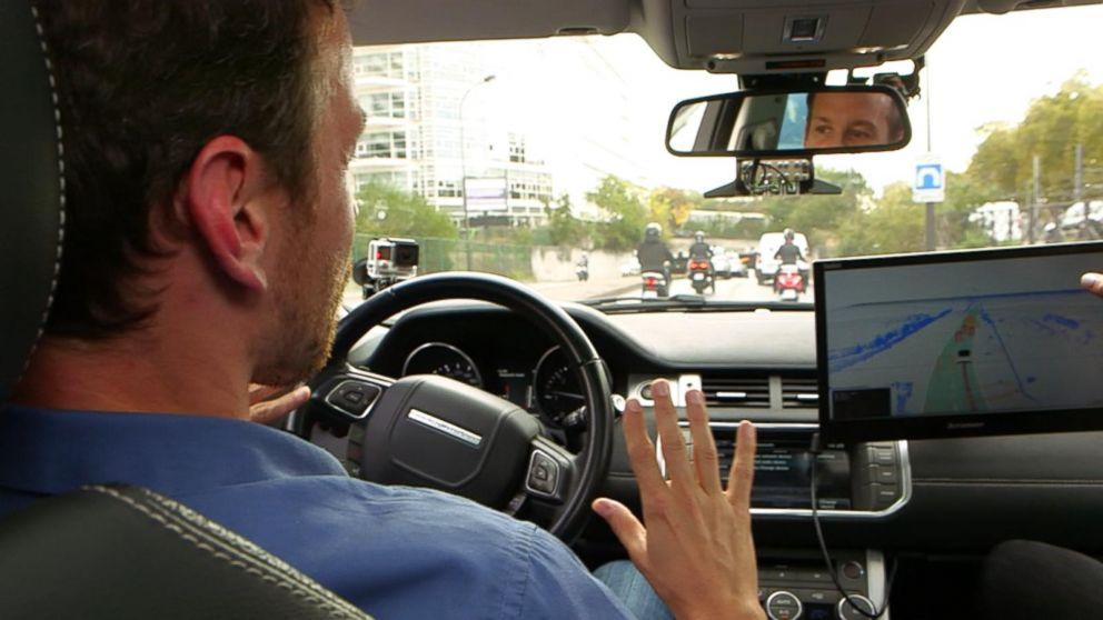 Video: Self-driving cars in Paris