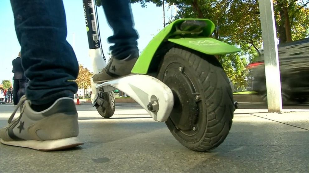 Head injuries make up 40% of e-scooter ER visits: Study - ABC News