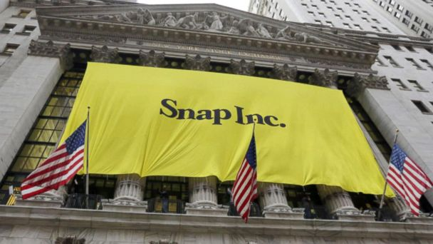 Snapchat's stock is up 20 percent