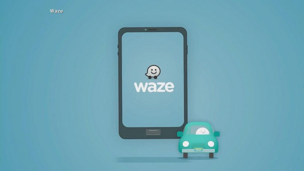 Waze app under fire from police departments Video - ABC News