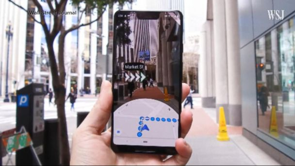 Google says it's working on augmented reality phone feature