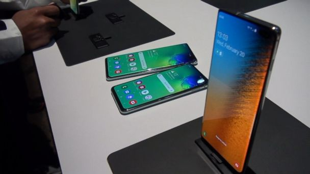 Samsung unveils its first foldable phone