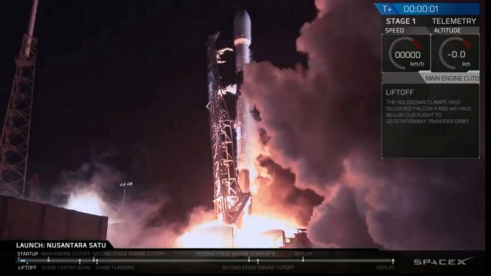 WATCH:  SpaceX launches Israeli lunar spacecraft into orbit