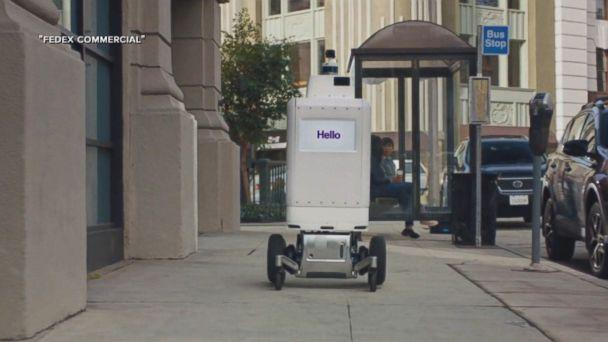 FedEx testing robots to make deliveries