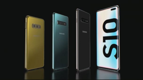 Samsung unveils Galaxy S10