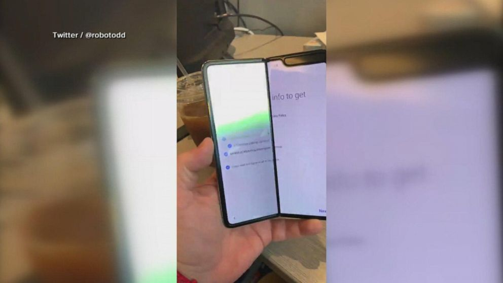 Samsung delays release of Galaxy Fold over display issues