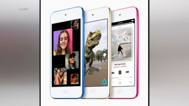 Apple's first new iPod in 4 years