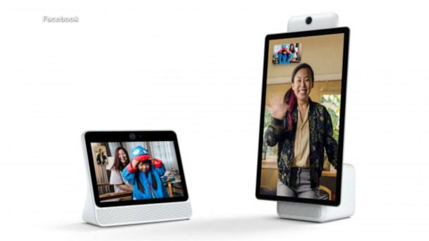 New versions of the Facebook portal