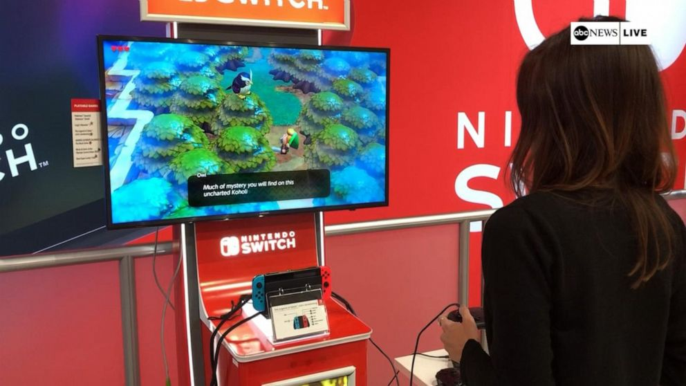 Classics make comeback at the E3 gaming expo in Los Angeles