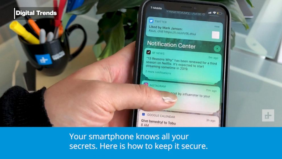 Top tips to keep your smartphone safe